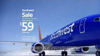 Southwest Sale TV Spot, 'The Game' - 22 commercial airings