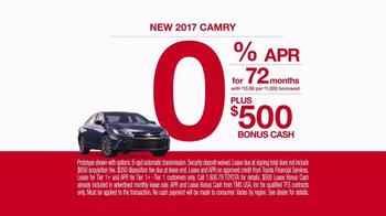 2017 Toyota Camry TV Spot, 'Mind Reader' - Thumbnail 9