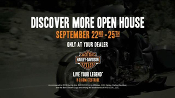 Harley-Davidson Discover More Open House TV Spot, '2017 Touring Lineup' - Thumbnail 7