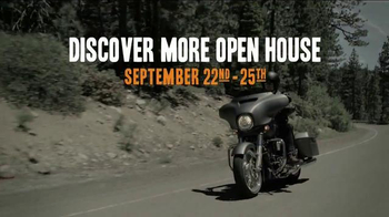 Harley-Davidson Discover More Open House TV Spot, '2017 Touring Lineup' - Thumbnail 6