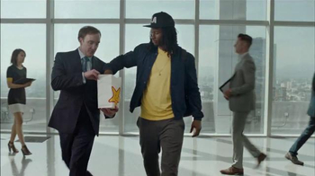 Hardee's Classic Double Cheeseburger Combo TV Spot, 'Agent' Ft. Todd Gurley
