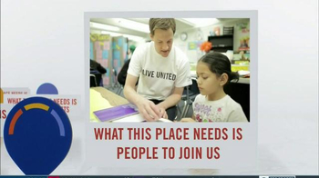 United Way TV Spot, 'What This Place Needs'