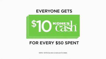 Kohl's TV Spot, 'Spend Your Kohl's Cash'
