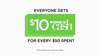 Kohl's TV Spot, 'Spend Your Kohl's Cash'