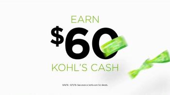 Kohl's TV Spot, 'Spend Your Kohl's Cash' - Thumbnail 5