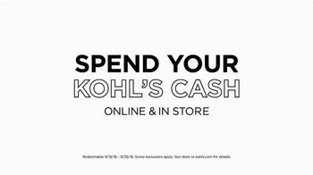 Kohl's TV Spot, 'Spend Your Kohl's Cash' - Thumbnail 8