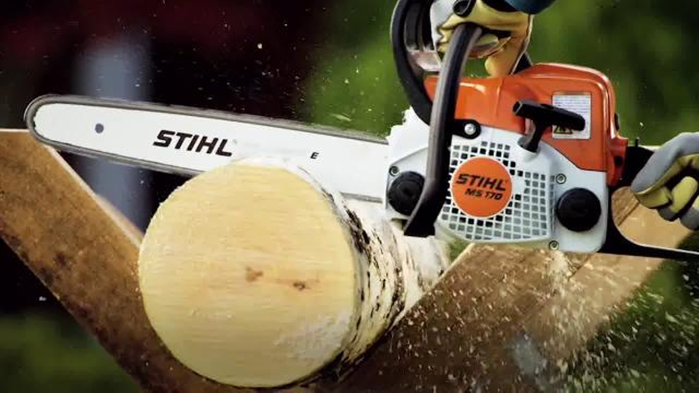 Stihl tv commercial ms 170 chainsaw ispot greentooth Gallery