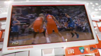 WNBA App TV Spot, 'League Pass'