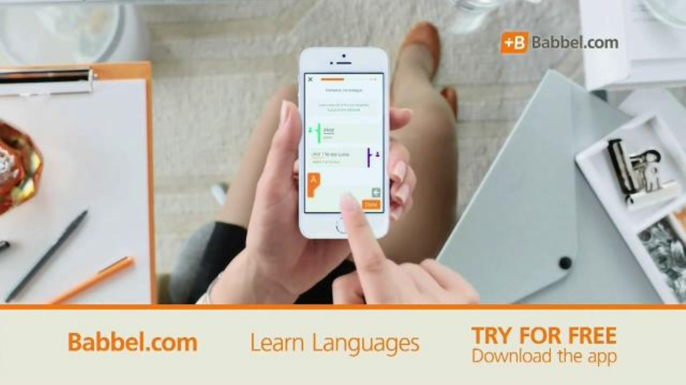 Babbel TV Commercial, 'Phrases You Can Use'