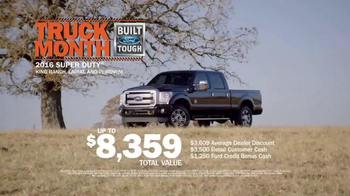 Ford Truck Month TV Spot, '2016 Super Duty' - Thumbnail 9