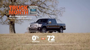 Ford Truck Month TV Spot, '2016 Super Duty' - Thumbnail 8