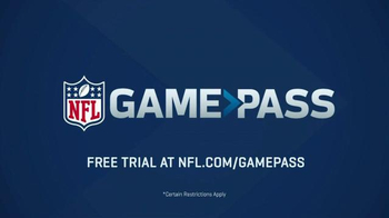 NFL Game Pass TV Spot, 'More Angles' - Thumbnail 7
