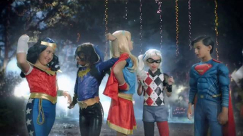 Party City TV Spot, 'Thrillerize Halloween: DC Superhero High Costumes' - Thumbnail 3