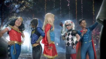 Party City TV Spot, 'Thrillerize Halloween: DC Superhero High Costumes' - Thumbnail 4