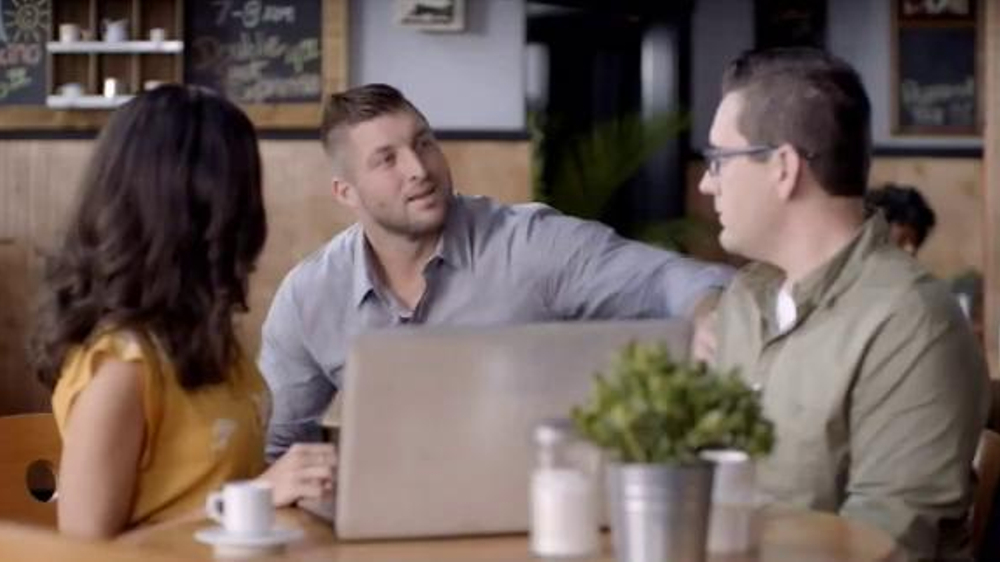 regions bank tv commercial 39 tebowflex 39 featuring tim tebow. Black Bedroom Furniture Sets. Home Design Ideas
