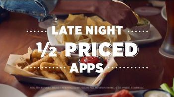 Applebee's Late Night Half-Priced Apps TV Spot, 'Think of It Differently'