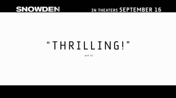 Snowden - Alternate Trailer 15