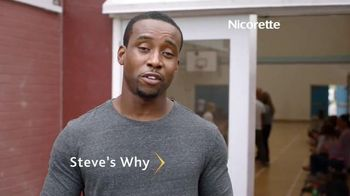 Nicorette Mini TV Spot, 'Steve's Story: What's Your Why?'