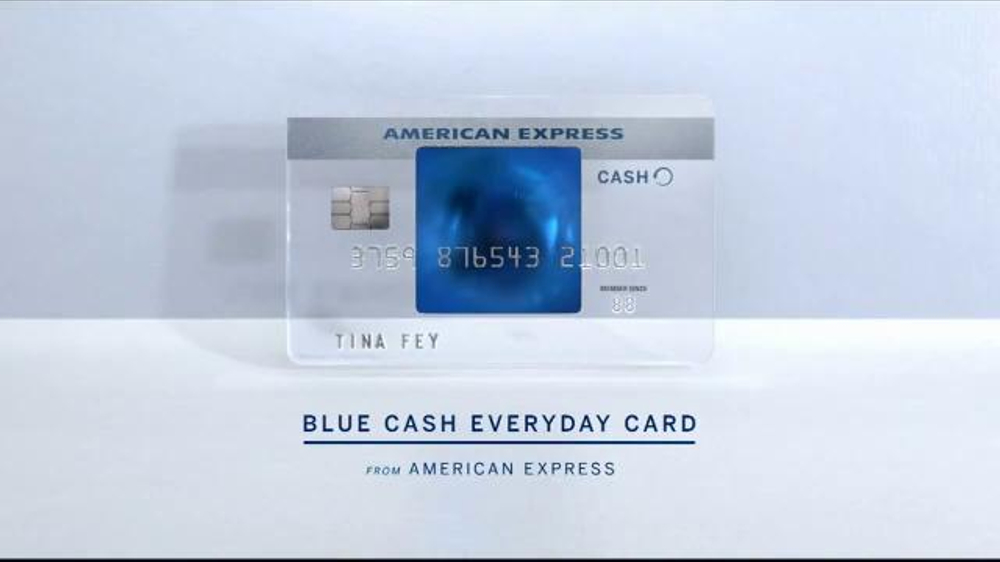 American Express Blue Cash Everyday Card Tv Commercial