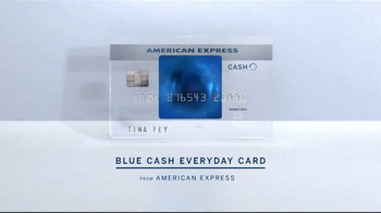 American Express Blue Cash Everyday Card TV Spot, 'Recline' Feat. Tina Fey - Thumbnail 6