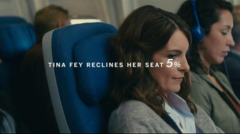 American Express Blue Cash Everyday Card TV Spot, 'Recline' Feat. Tina Fey - Thumbnail 4