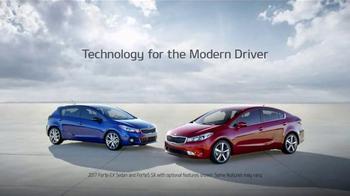 2017 Kia Forte TV Spot, 'Car Karaoke With Autonomous Emergency Braking' - Thumbnail 10