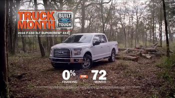 Ford Truck Month TV Spot, 'F-150: First' - Thumbnail 7
