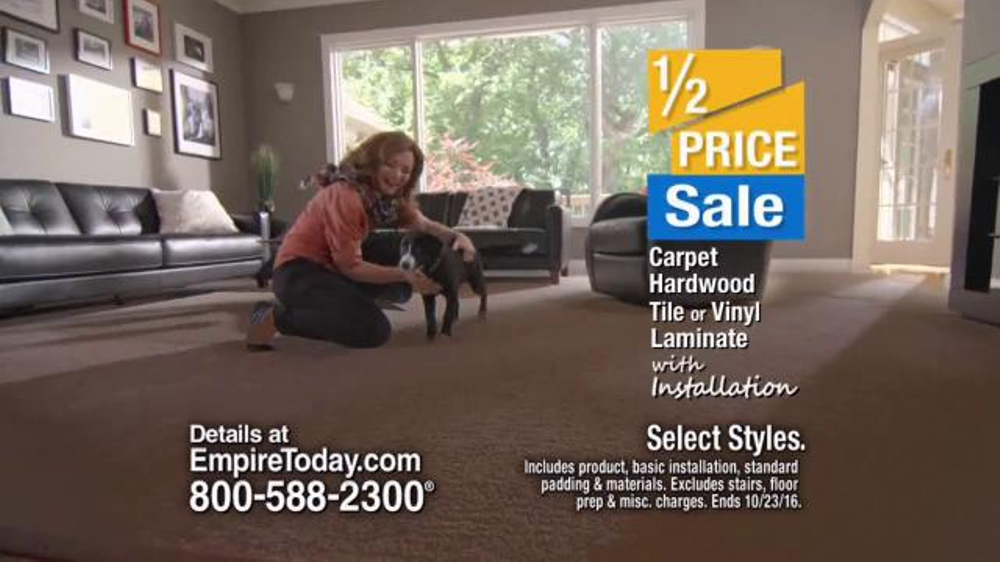 Empire Today Half Price Sale Tv Commercial Carpet Hardwood Tile