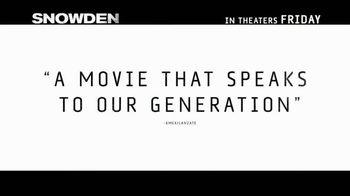 Snowden - Alternate Trailer 20