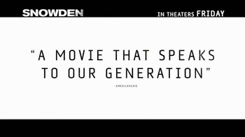 Snowden - Alternate Trailer 20