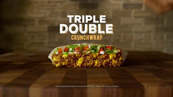 Taco Bell Triple Double Crunchwrap TV Spot, 'The Next Level' - Thumbnail 8
