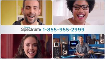 Charter Spectrum Triple Play TV Spot, 'Beatbox' Featuring 80Fitz