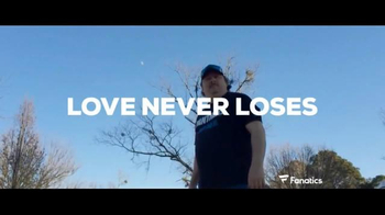 Fanatics.com TV Spot, 'Love Never Loses: Panther Rap' - 335 commercial airings