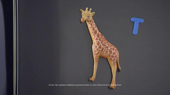 Lowe's TV Spot, 'Giraffes Rule: Appliances' - Thumbnail 3