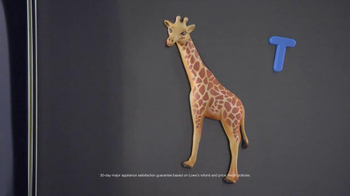 Lowe's TV Spot, 'Giraffes Rule: Appliances' - Thumbnail 4