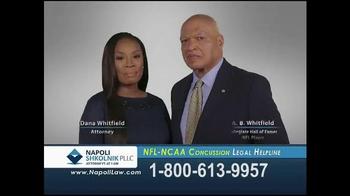Napoli Shkolnik PLLC TV Spot, 'NFL-NCAA Concussion' - Thumbnail 1
