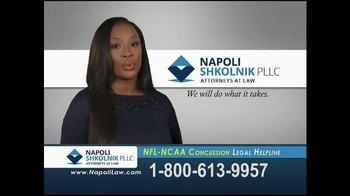 Napoli Shkolnik PLLC TV Spot, 'NFL-NCAA Concussion' - Thumbnail 10