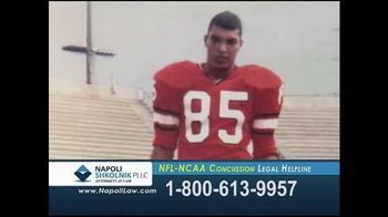 Napoli Shkolnik PLLC TV Spot, 'NFL-NCAA Concussion' - Thumbnail 2