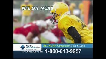 Napoli Shkolnik PLLC TV Spot, 'NFL-NCAA Concussion' - Thumbnail 8