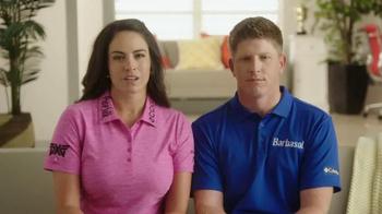 Barbasol + Pure Silk TV Spot, 'Golf Talk' Feat. Gerina Piller - Thumbnail 1