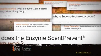 Dead Down Wind TV Spot, 'Enzyme-Based Scent Control' - Thumbnail 1