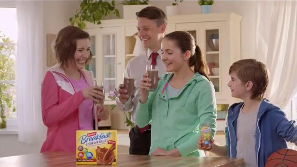 Carnation Breakfast Essentials TV Commercial, 'Get Going'