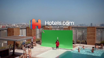Hotels.com App TV Spot, 'Captain Obvious Travels the World' - Thumbnail 9