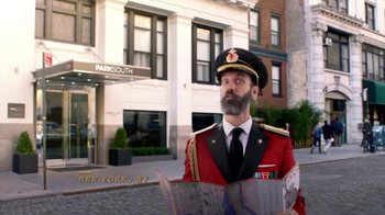 Hotels.com App TV Spot, 'Captain Obvious Travels the World'