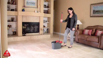 O Cedar EasyWring Spin Mop & Bucket System TV Spot, 'Effortless' - Thumbnail 4
