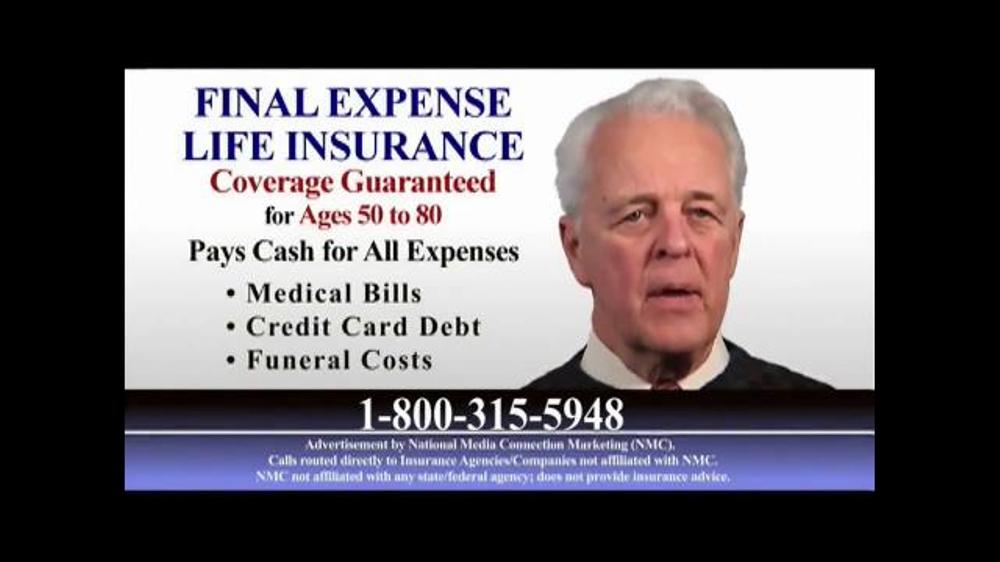 Final Expense Life Insurance TV Commercial, U0027Cash For All Expensesu0027    ISpot.tv