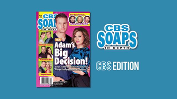 CBS Soaps in Depth TV Spot, 'Adam's Big Decision'