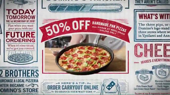 Domino's TV Spot, '50% Off All Pizzas' - Thumbnail 5