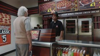 Little Caesars Pizza Hot-N-Ready Classic TV Spot, 'Fine Print' - Thumbnail 1