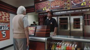 Little Caesars Pizza Hot-N-Ready Classic TV Spot, 'Fine Print' - Thumbnail 4